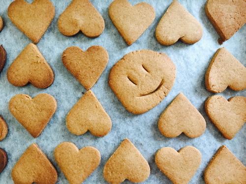 米粉で作ったクッキー