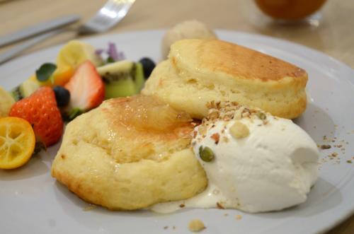 超受歡迎的軟Q鬆餅!跟上流行,一起來享受蔬食菜單吧。 AIN SOPH.soar(アインソフソア)【池袋】