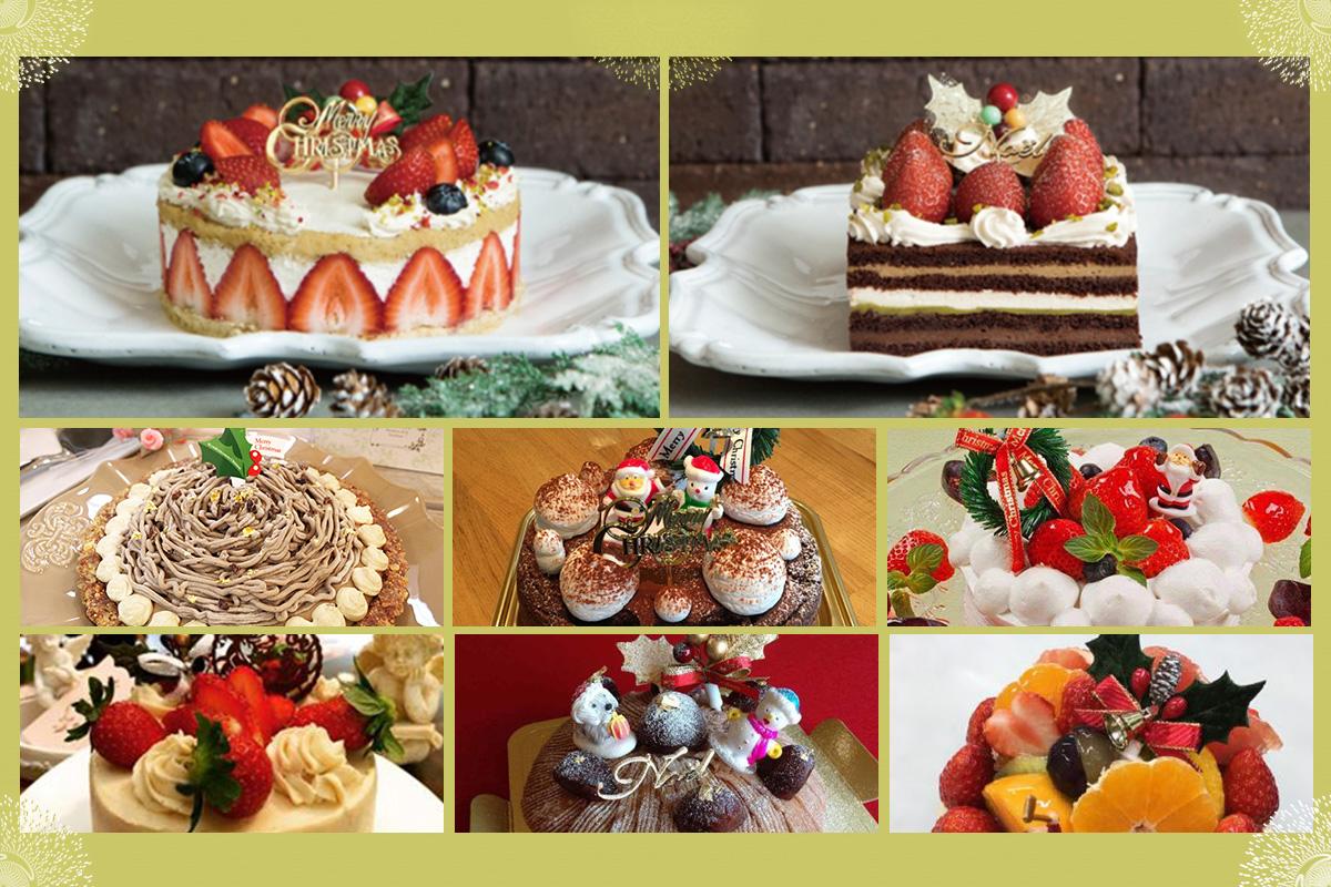 クリスマスもヘルシーケーキで過ごしたい!ベジタリアン・ビーガン・グルテンフリーおすすめクリスマスケーキ13選