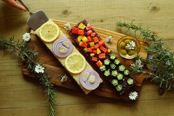 這是使用蔬菜製作的壽司!猶如蛋糕的VEGESUSHI(蔬菜壽司)於海外掀起熱潮。hoxai kitchen【市角壯玄先生訪談】