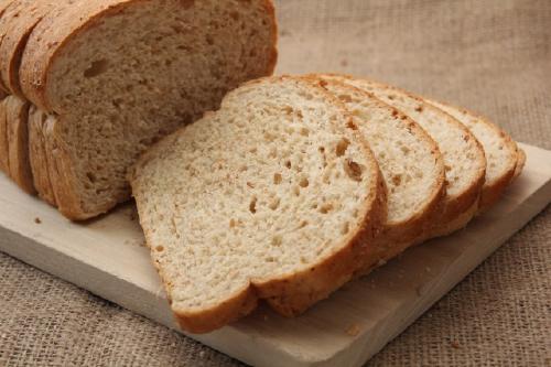 小麦を使った食パン