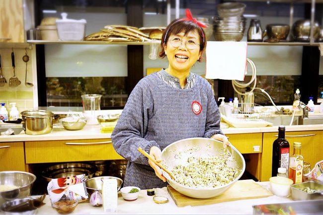 Vegewel主催「西邨マユミさんに教わる時短でヘルシーな作り置きそうざいと交流会」イベントレポート