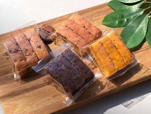 秋の米粉ビスコッティ4種セット【日々あきおやつ×Vegewel特別コラボ】