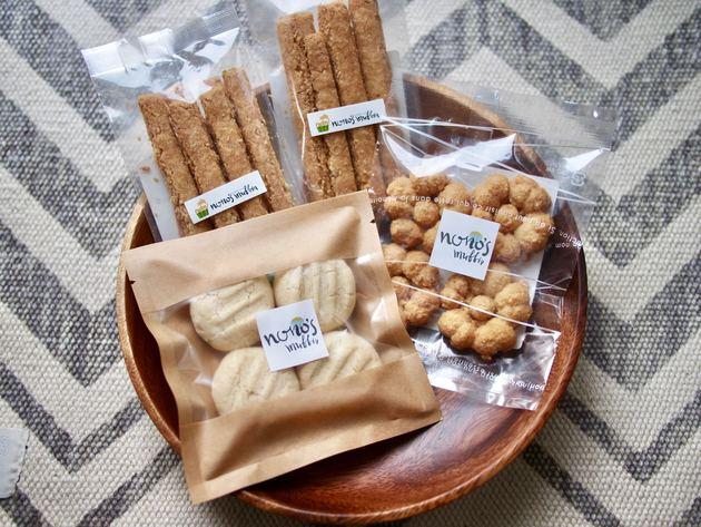 米粉のグルテンフリークッキー3種詰め合わせ【ノノズマフィン×Vegewel特別コラボ】